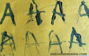 Toddler Letter A Craft (2)