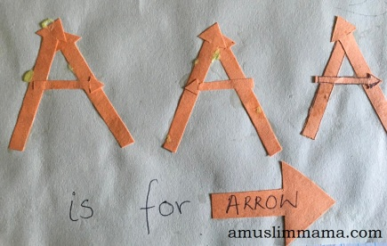Toddler Letter A Craft (3)