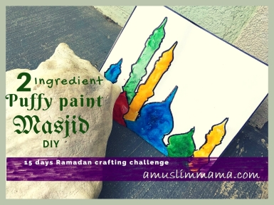 15 days Ramadan crafting challenge