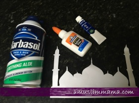 2 ingredient puffy paint Majid diy ramadan craft (10)
