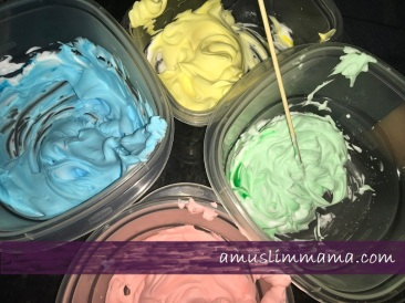 2 ingredient puffy paint Majid diy ramadan craft (2)