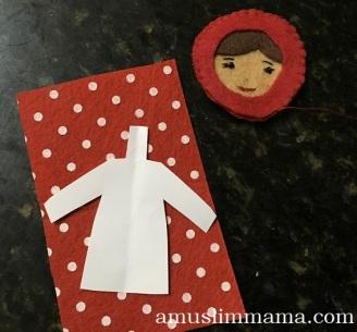 Felt Muslim doll finger puppet DIY (33)