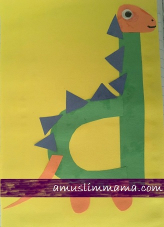 Letter D pre schooler and Toddler craft (5)