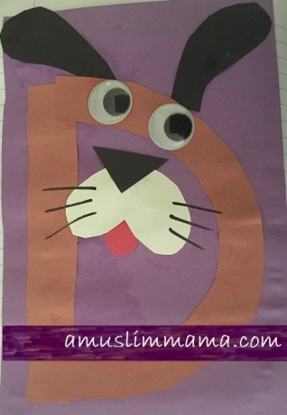 Letter D pre schooler and Toddler craft (6)