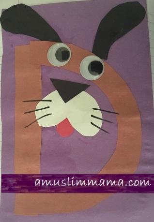 Letter D pre schooler and Toddler craft (6)