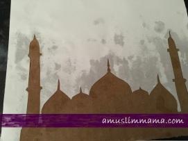 Masjif puffy paint Ramadan craft (6)
