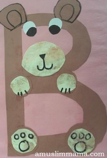 Preschool Letter B Craft (2)