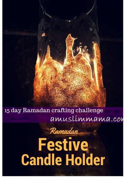 Ramadan Craft festive candle holder