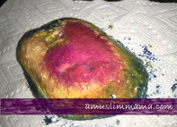 Rock crayon painting for Ramadan craft (3)