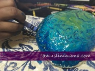 Rock crayon painting for Ramadan craft (6)