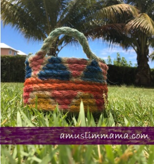 Rope basket diy for Ramadan craft (1)