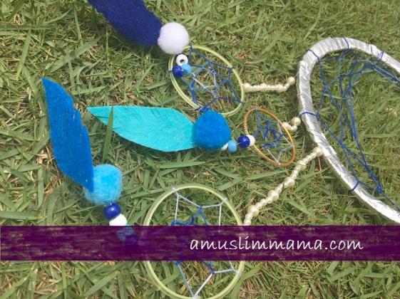 woven Crescent wall hanging as ramadan craft (10)