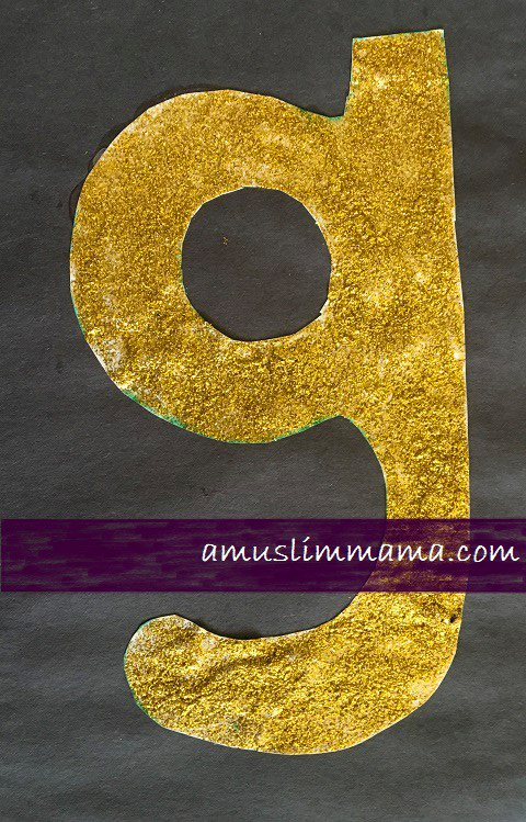 Letter G Crafts for toddlers & Preschoolers (2)
