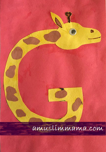 Letter G Crafts for toddlers & Preschoolers (4)