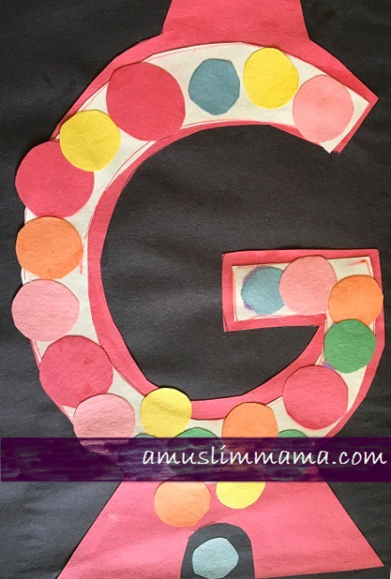 Letter G Crafts for toddlers & Preschoolers (5)