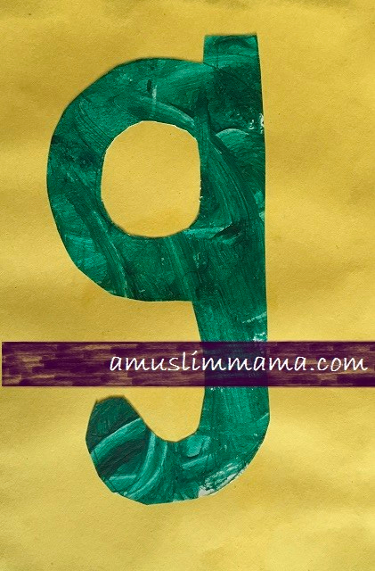 Letter G Crafts for toddlers & Preschoolers (6)