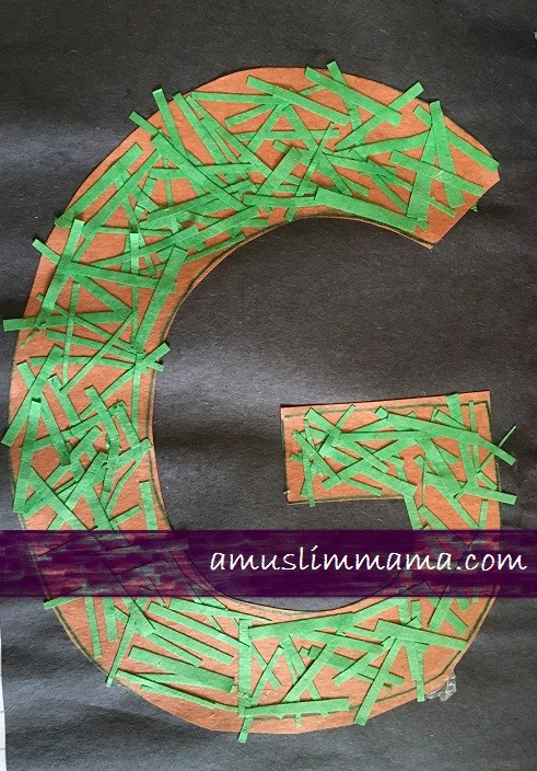 Letter G Crafts for toddlers & Preschoolers (7)
