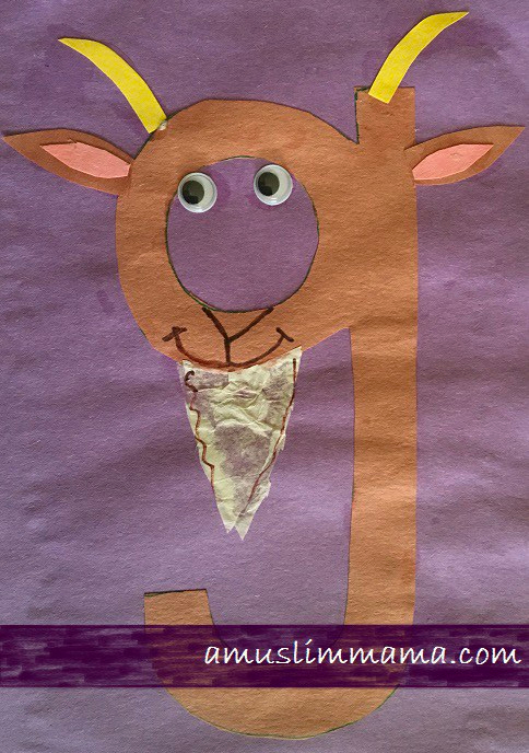 Letter G Crafts for toddlers & Preschoolers (8)