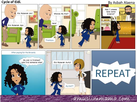 Muslim Toddler Comic Eid Eidi.png