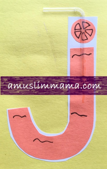 Pre schooler Letter J crafts (2)