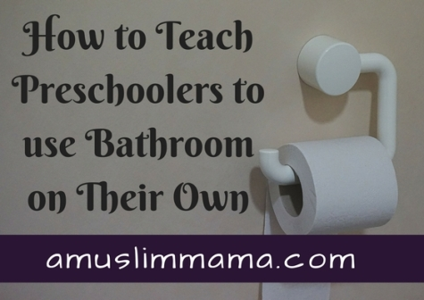 Teaching a Preschoolers to use Bathrooms on Their Own