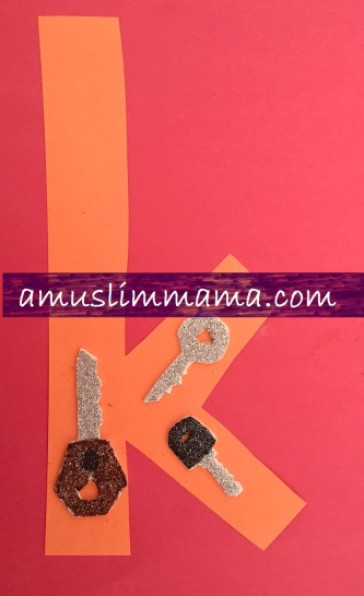 Toddlers preschooler Letter K Crafts (1)