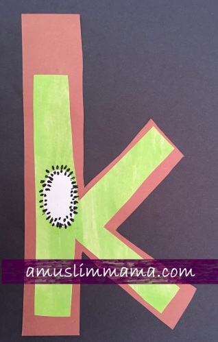 Toddlers preschooler Letter K Crafts (2)