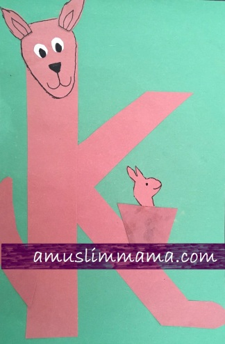 Toddlers preschooler Letter K Crafts (5)