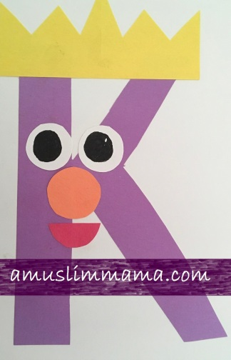 Toddlers preschooler Letter K Crafts (6)