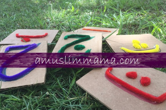 DIY touch & feel Arabic letters (10)