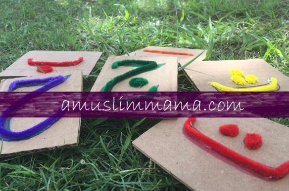 DIY touch & feel Arabic letters (10)