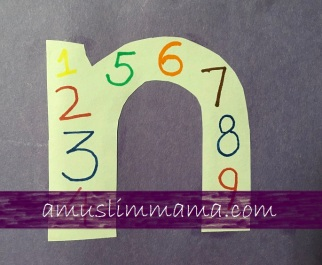 Toddler & Preschoolers Letter N Crafts (2)
