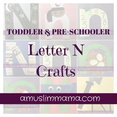 Toddler & Preschoolers Letter N Crafts (9)