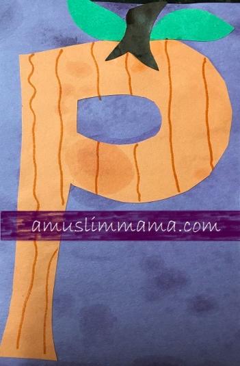 Toddler & Preschooler Letter P crafts (2)