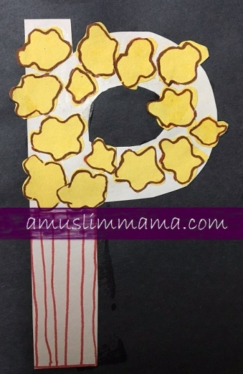 Toddler & Preschooler Letter P crafts (5)