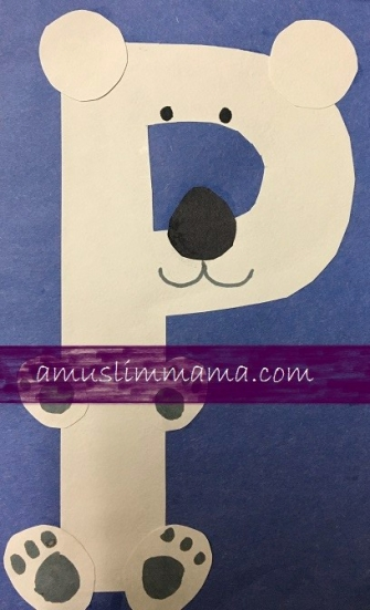 Toddler & Preschooler Letter P crafts (7)