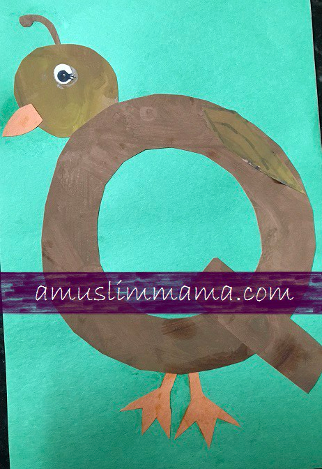 Toddlers & Preschooler Letter Q crafts (2)