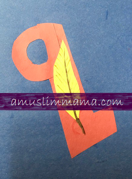 Toddlers & Preschooler Letter Q crafts (4)